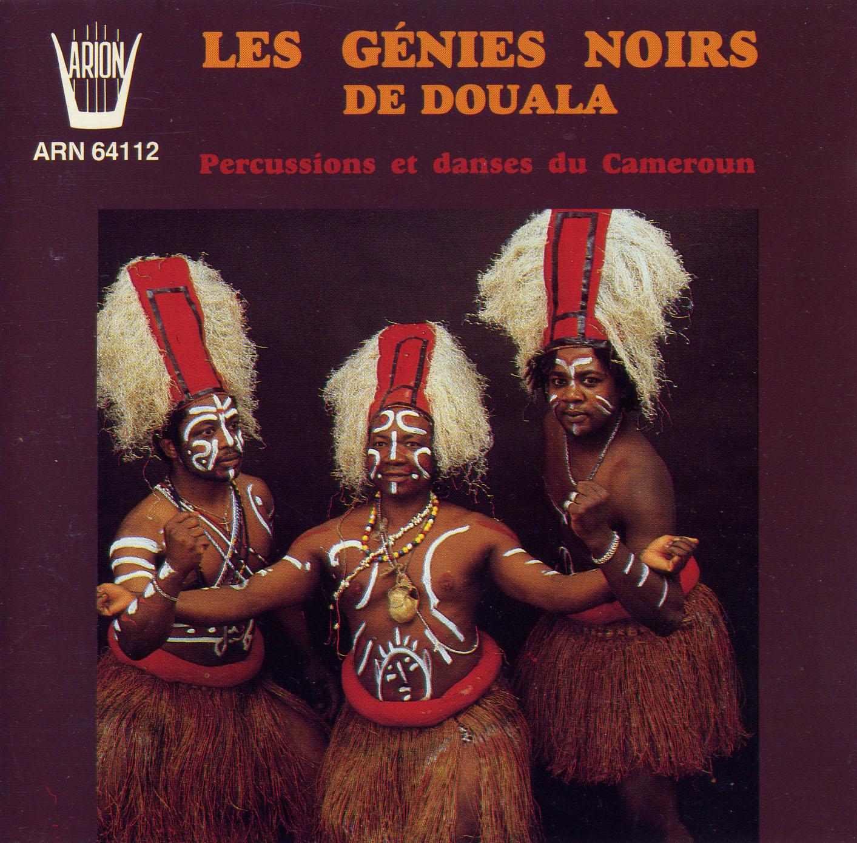 """Les Genies Noirs Da Douala – CD """"Percussions et danses du Cameroun"""" - 1990"""