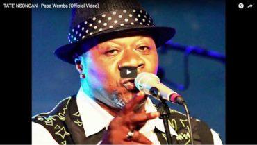 Video di Tatè nsongan omaggio a papa wemba